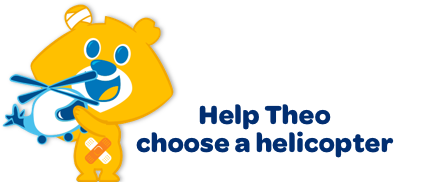 Help Theo ?choose a helicoper