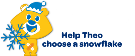 Help Theo choose a snowflake